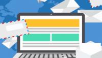 e-mailmarketing trends op laptop scherm