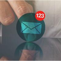 Drukken op projectie e-mailberichten