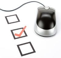 Checklist vinkje