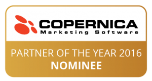 Copernica Partner of the Year 2016 button