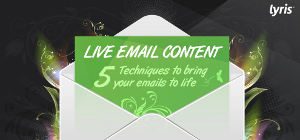 Envelop met live e-mail content