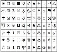 Symbolen in je onderwerpregel