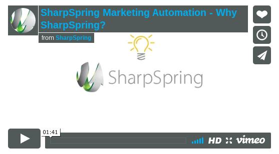 Waarom SharpSpring als marketing automation