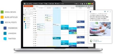 SharpSpring content kalender
